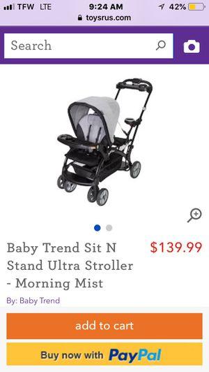 Double stroller for Sale in Palmyra, VA
