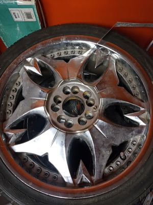 Photo 18 inch rims and tires $400 obo