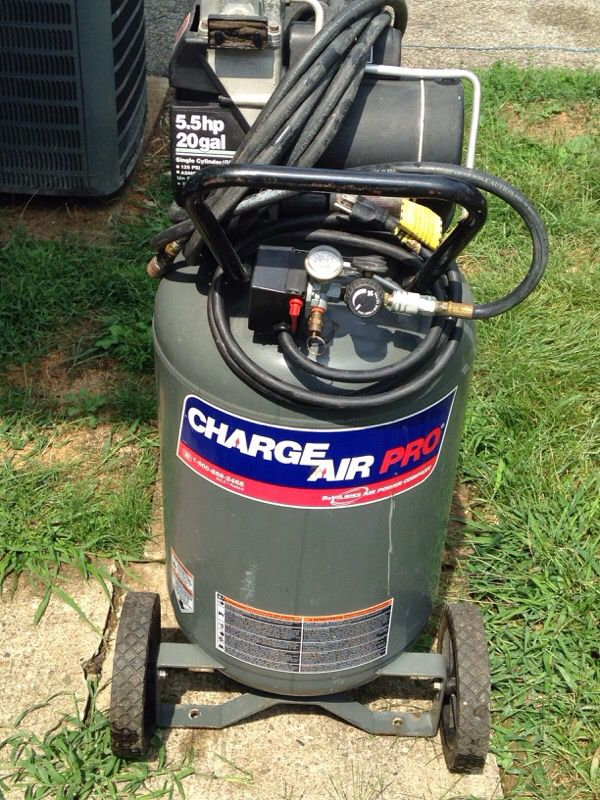 air compressor devilbiss 20 gallon 5 5 hp charge air pro for sale in