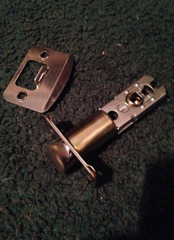 Doorknob and key