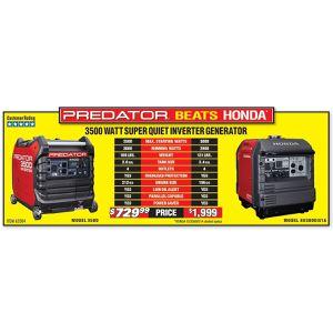 New Predator Generator 3500 watt for Sale in Eugene, OR - OfferUp