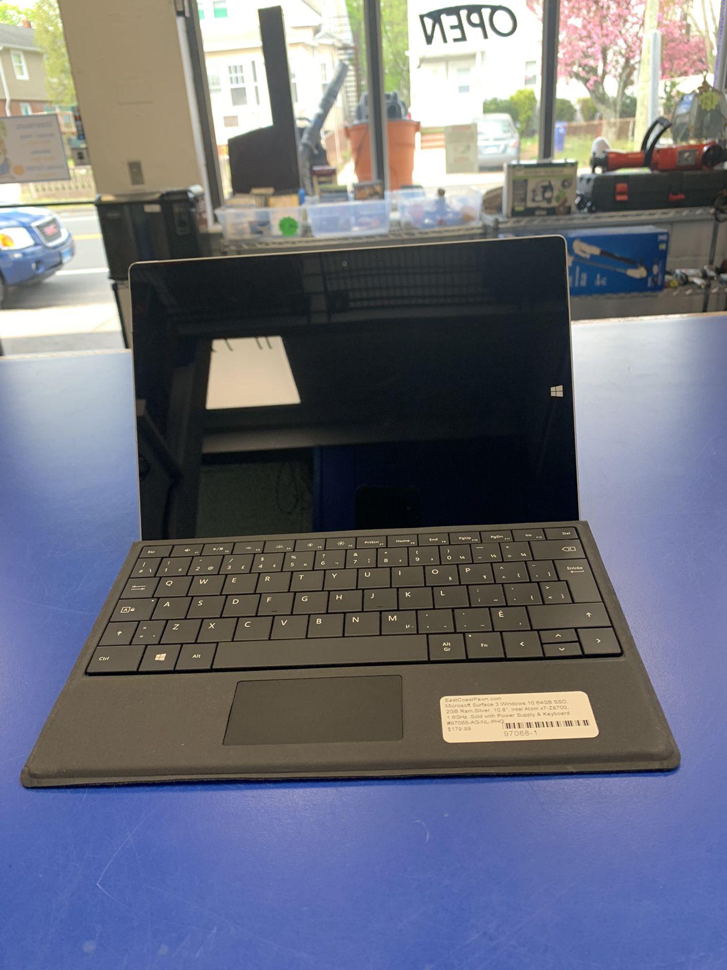 Microsoft Surface  3 .