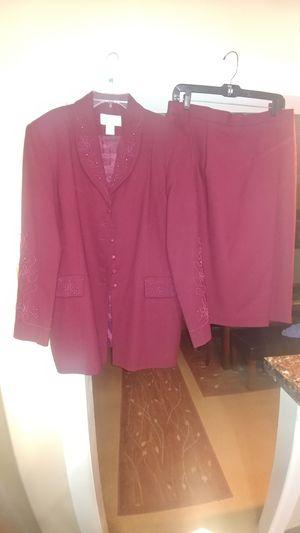 Charles Gluech womens 2pc skirt set for Sale in Philadelphia, PA