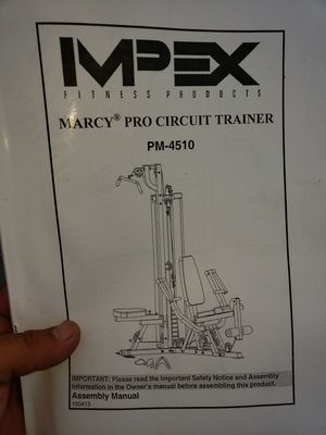 marcy pro circuit trainer for Sale in Sunrise, FL