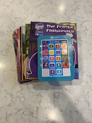 Photo My little pony me reader book lot