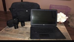 Hp laptop, Hp laptop bag, And HP speakers. for Sale in Hammond, LA