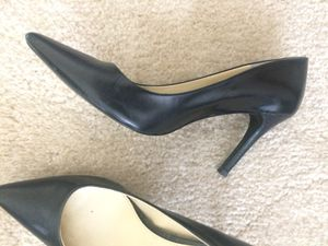Black Lauren pumps and brushed taupe/nude Vittadini pumps. Size 6.5. 20 each or both for 35. for Sale in Herndon, VA