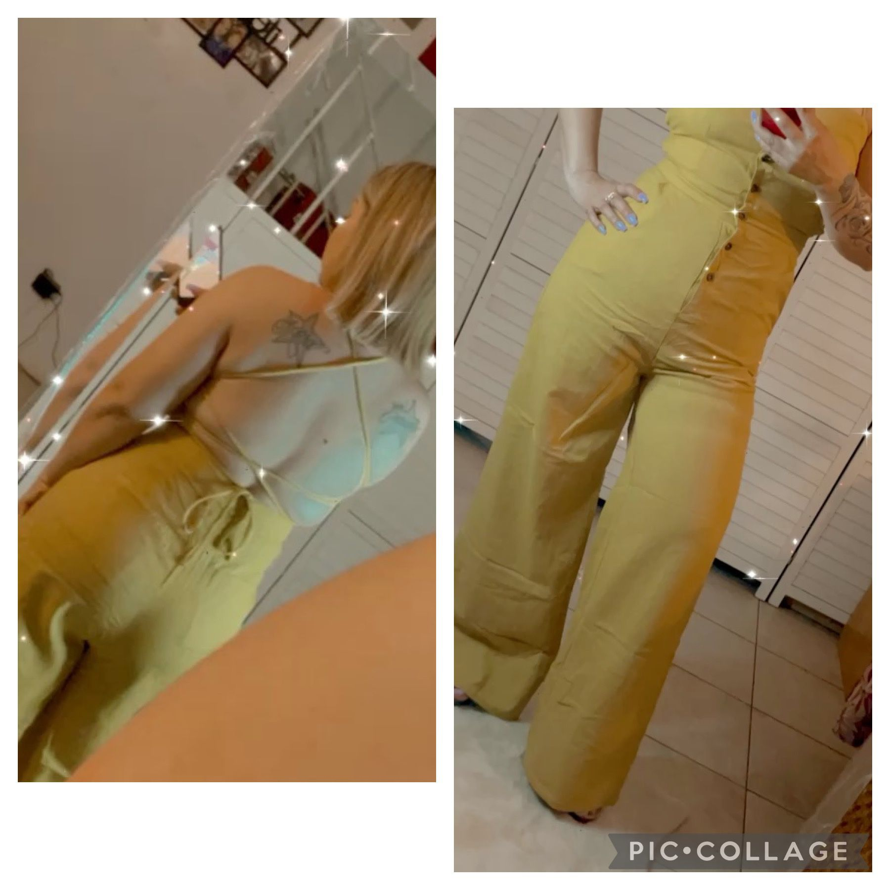 Yellow Sexy Long Jumpsuit!