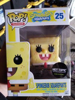 Funko Pop Spongebob Squarepants HT exclusive GITD Thumbnail