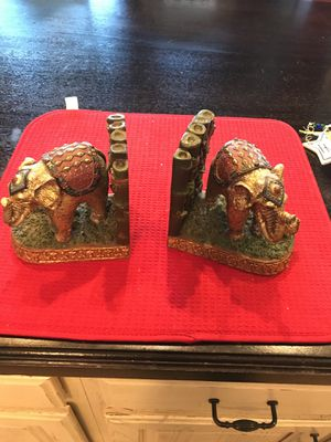 Elephant book case ends for Sale in Katy, TX