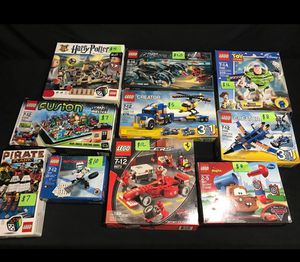 Lego sets complete and incomplete sets ...parts and pieces ...and more.. for Sale in Daniels, MD
