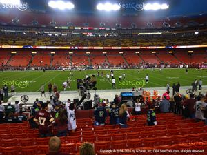 2 Redskins vs Cowboys Tickets Section 101 Lower level for Sale in Washington, DC