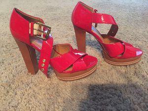 Michael Kors Red high heel wedges for Sale in Dublin, CA