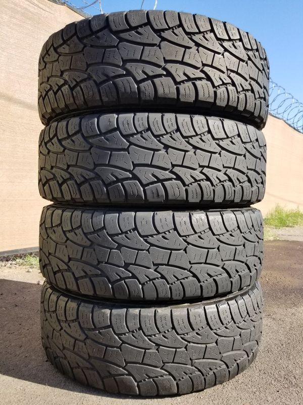 Set Of 4 Lt26575r16 Cooper Discoverer Atp 10ply Tires For Sale In