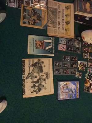 Football Cards and Autographs and memorabilia for Sale in Vienna, VA