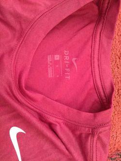 2 NWT Nike Dri-Fit Shirts. Size Large $40 Thumbnail