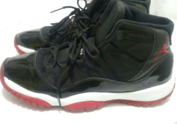 Jordan Bred 11s size 7Y(fits adults) (Clothing   Shoes) in Hampton ... 6d2da9da3