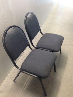 Blue cushion chairs...! for Sale in Richmond, VA