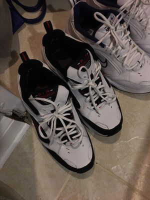 Air monarch shoes, White Nike's for Sale in Manassas, VA