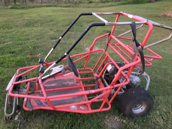 Yerfdog go kart cart spider box frame with engine for Sale in San Antonio,  TX - OfferUp
