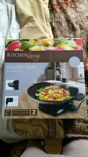 Electric Wok - Kitchen Living for Sale in Washington, DC