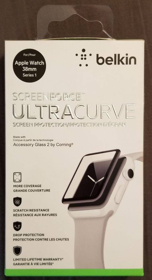 Belkin Screenforce Ultracurve: Screen Protector - Apple Watch 38mm Series 1  for Sale in Huntington Beach, CA - OfferUp