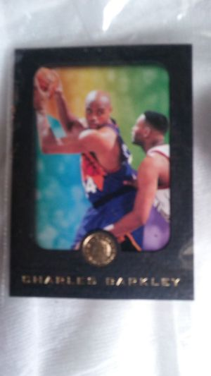Charles Barkley card for Sale in Portland, OR