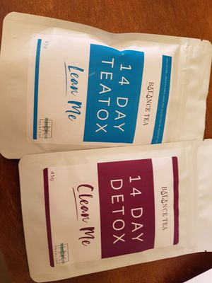 Weight loss detox tea for Sale in West Los Angeles, CA