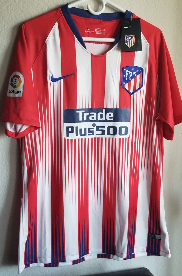 Nike Mens 18 19 Atlético de Madrid Home jersey ORIGINAL (Sports   Outdoors)  in Phoenix 77f128cdd