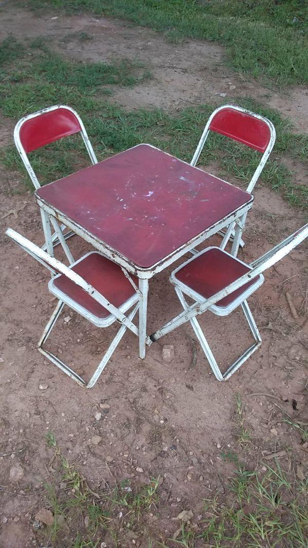 - Antique Kids Table