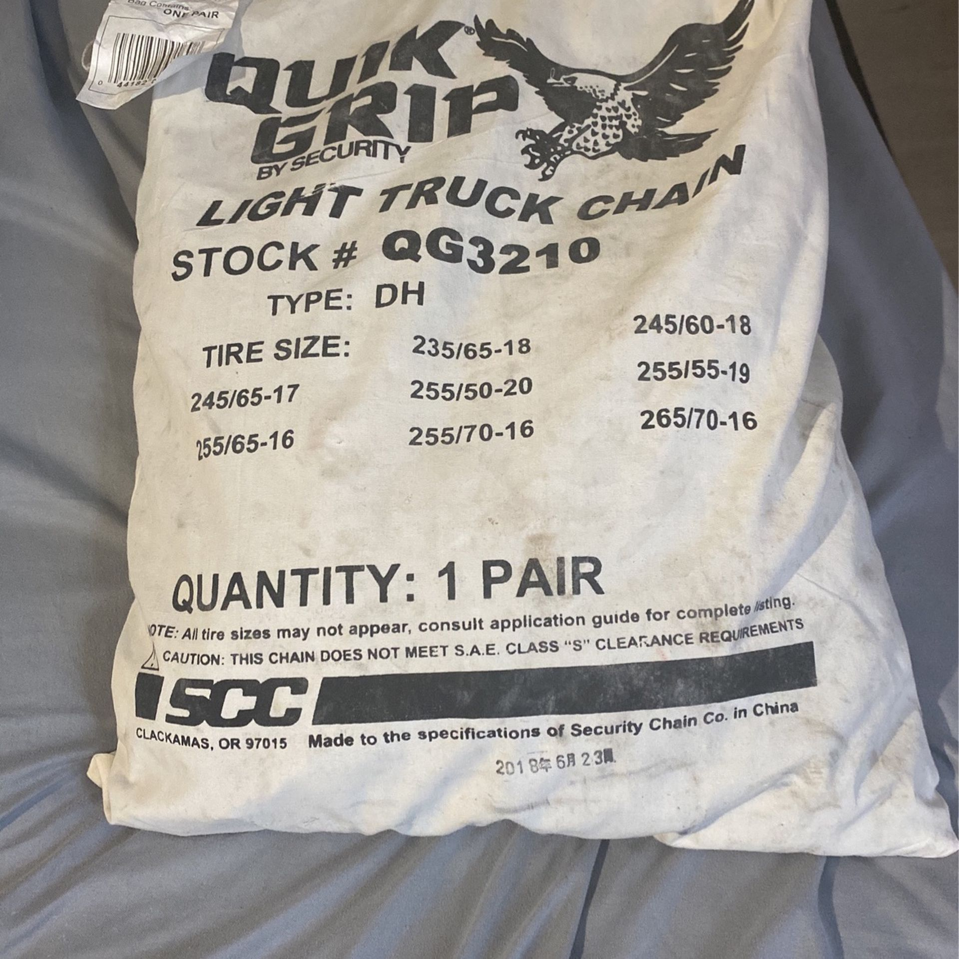 Quik Grip Tire Chain By Security Chain Co.