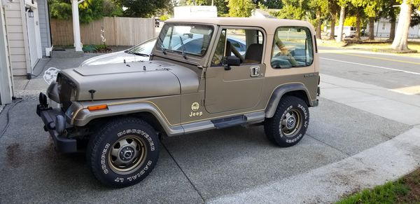 1988 Jeep Wrangler Yj Sahara For Sale In Everett Wa Offerup