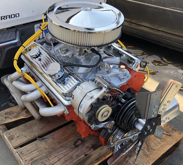 1977 Chevy Small Block Motor Wiring: Sbc 350 Chevy Small Block Turn Key 5.7 Engine For Sale In