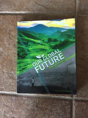 Our global future David Larom for Sale in Lemon Grove, CA