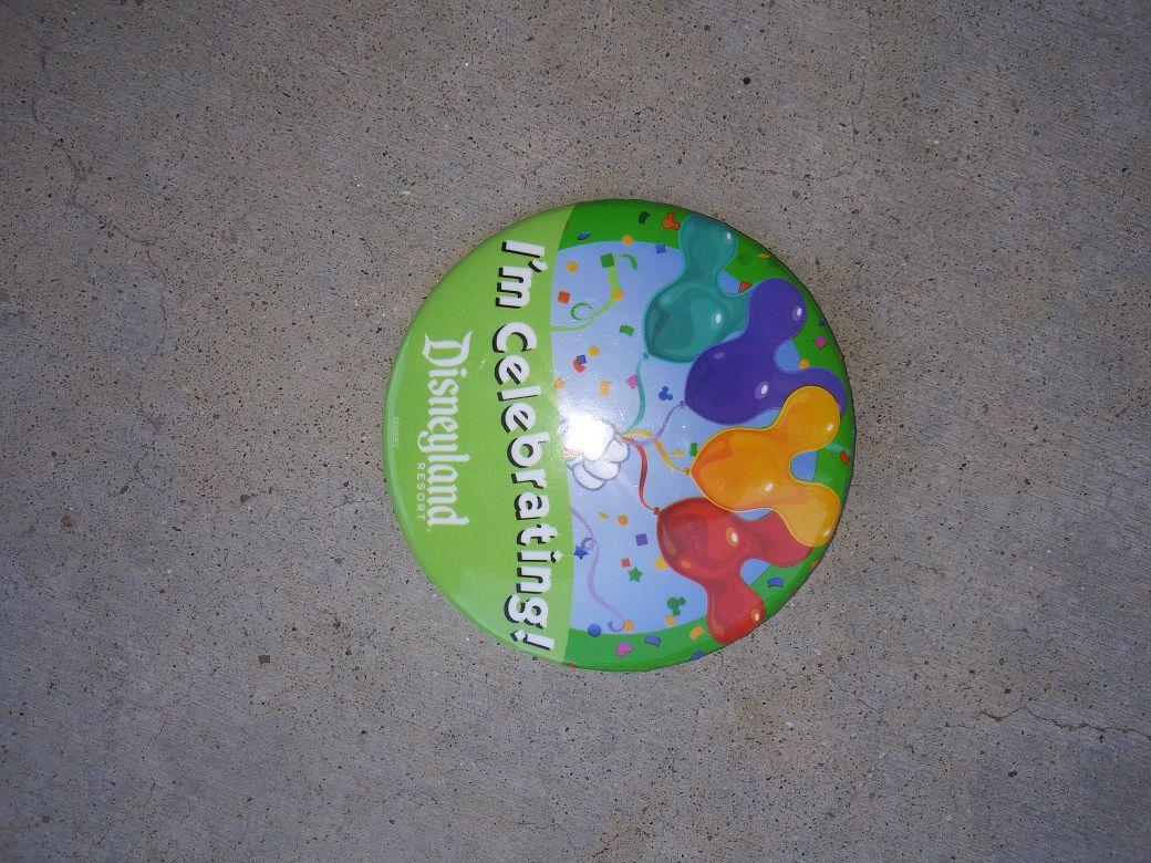 Disney button