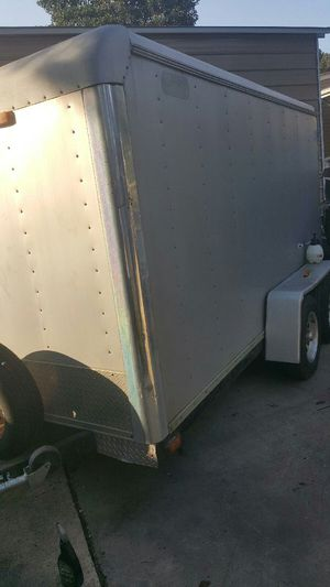 Enclosed trailer 6X12 dual axle for Sale in Washington, DC