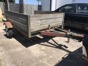 5x8 Customized Dump Trailer No Le For In Chesapeake Va