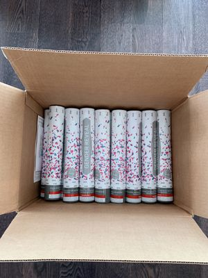 """12"""" Pink Gender Reveal Confetti Cannons for Sale in Seattle, WA"""