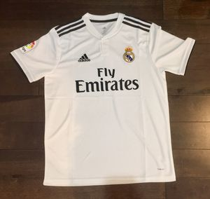 NEW Real Madrid home jersey 2018/19 size M for Sale in Fairfax, VA
