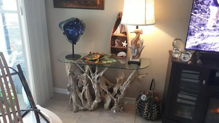 Driftwood Console Table Thumbnail