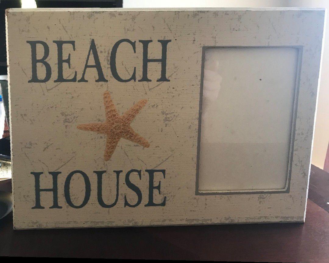 Beach House Picture Frame Decor