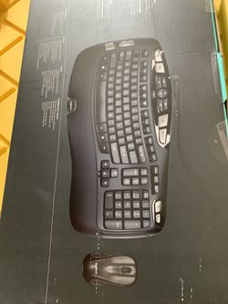 Logitech MK550 Wireless Wave Keyboard  Thumbnail