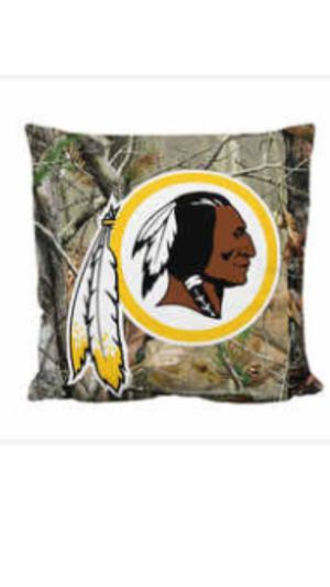 """""""Redskins Camo and Superman Pillow for Sale in Washington, DC"""