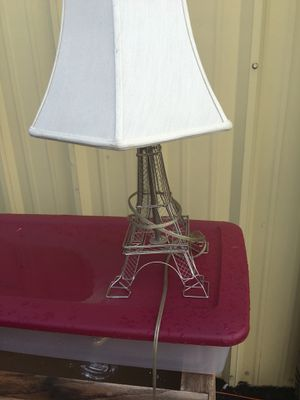 """24"""" tall Eiffel Tower table/desk lamp... for Sale in Durham, NC"""