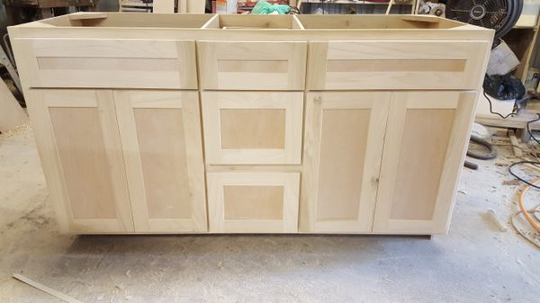 21×60 inch shaker style bath cabinet for Sale in Houston, TX - OfferUp
