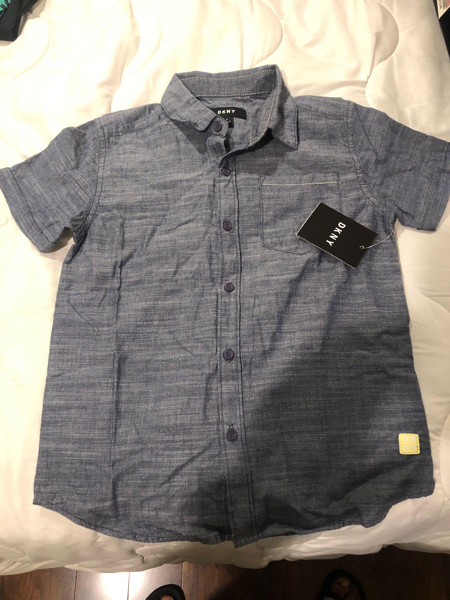 Boy DKNY short sleeve shirt