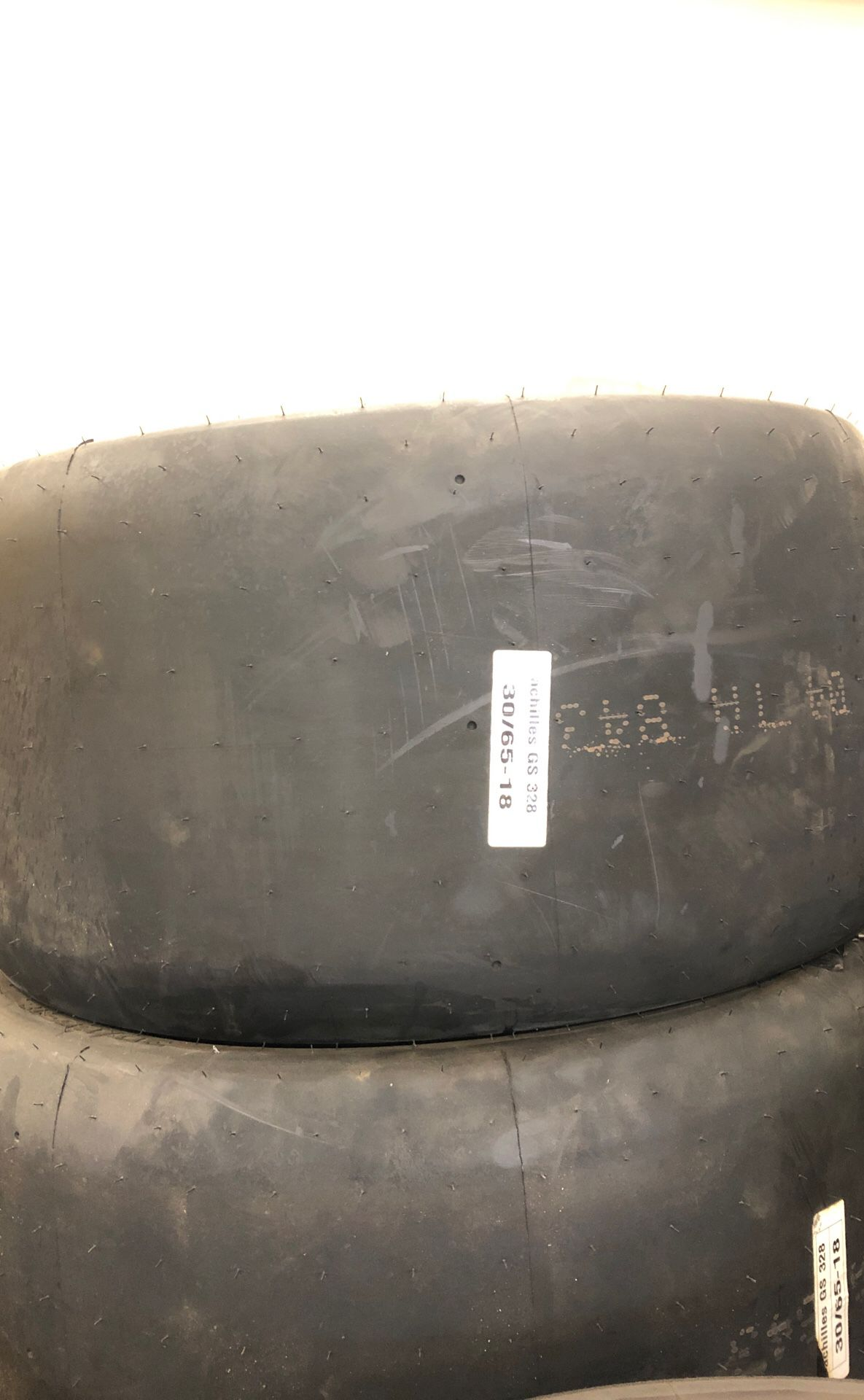 """Race tires new and used. 18"""" sizing. 250-300 width."""