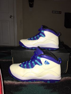 7170707882cdba Air Jordan 10 Retro BG Size 7y for Sale in Atlanta