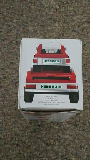 09c14097e46 2015 Hess Truck Fire Truck and Ladder Rescue Edition for Sale in East  Moriches
