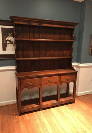 Large wooden hutch for Sale in Germantown, MD